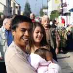 Brocante de Roissy 2009 -- Le sourire des clients et amis.