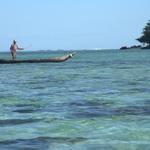 Pêcheur en pirogue (Ile aux Nattes) -- Pêcheur en pirogue (Ile aux Nattes)
