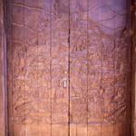 SOS Madagascar 2014 11 4344 -- Porte gravée du plan de la vieille ville
